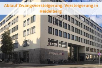 Ablauf Zwangsversteigerung (in Heidelberg)